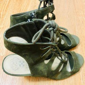 Vince Camuto Shoes - Size 8.5 Vince Camuto suede lace up sandals w zip